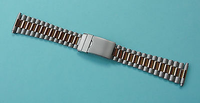 Men's Stainless Steel PRESIDENT Bracelet Watch Strap 18-22mm