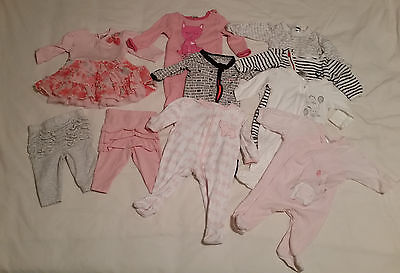 0000 baby girl and neutral clothes bulk jump suit dress leggings bonds cotton on