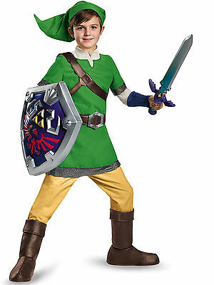 Legend Of Zelda Link Deluxe Costume for Kids