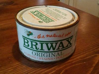 *1 CAN*  ~   BRIWAX ~ Natural Wax~ CLEAR ~ 16 oz  [ 5 available ]