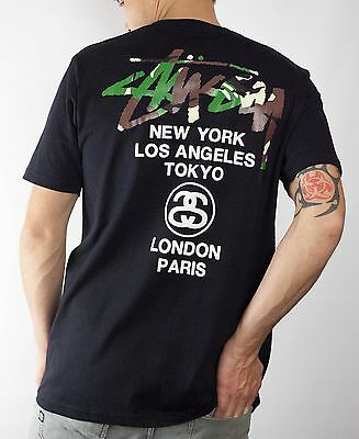 Stussy T-Shirt for Men in black Size M