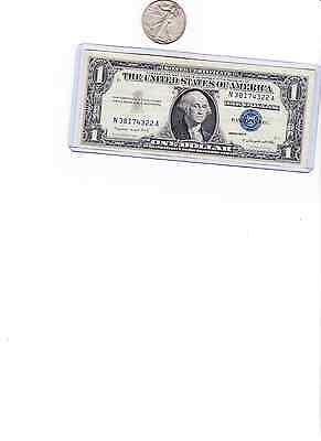 90% Silver $.50 face 1 Walking Liberty 1/2 $ & 1 1957 $1 Silver Certificate lot