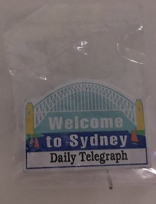 Welcome To Sydney - The Daily Telegraph Pin