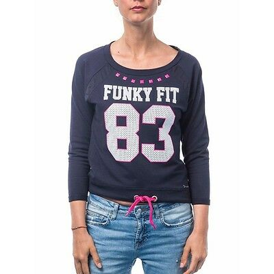 Sweat-shirt Sweet Years FUNKY FIT Bleu foncé