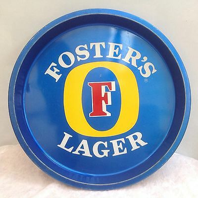 Vintage Fosters Lager Beer Tray Drinks Bar Man Cave