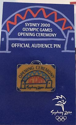 Sydney 2000 Olmpic Games Opening Ceremony - Offical Audience Pin