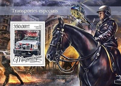 Z08 MOZ16323b MOZAMBIQUE 2016 Special transport MNH