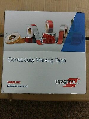 """2"""" x 150' white conspicuity tape"""