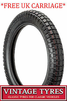 350-18 3.50-18 Motorcycle Trials Tyre Ensign New 350X18