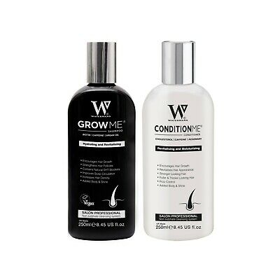 Try before you buy - Watermans Grow Me Shampoo and Conditioner - holiday sachet