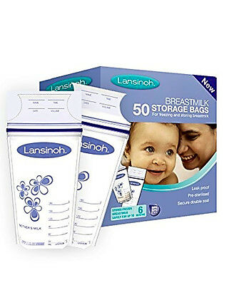 Lansinoh Breastmilk Storage Bags (50 Pieces)