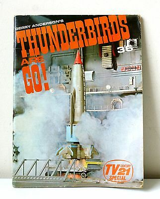 Gerry Andersons THUNDERBIRDS ARE GO! TV century 21 special photo book 1966