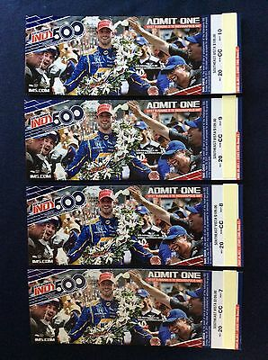 4 Tickets 2017 Indy 500 Southeast Vista (Turn 2)