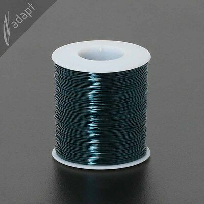 23 AWG Gauge Magnet Wire Blue Aqua 78' 155C Enameled Copper Coil Winding Tattoo