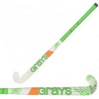 Clearence Line New Grays International Xite Maxi White/Green Hockey Stick 36.5L