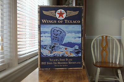 Wings Of Texaco Die Cast Collectable Scaled Replica Air Plane