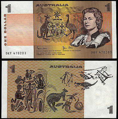 AUSTRALIA 1 DOLLAR JOHNSTON & STONE (P42d) N. D. (1983) UNC