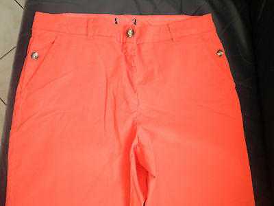 MUST HAVE PANTALON CHINO CORAIL MARQUE CAROLL NEUF Taille 42