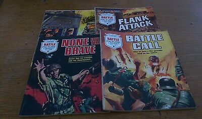 4 Battle Picture Library 1960S,  Good Condition