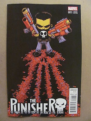 The Punisher #1 Marvel Comics 2016 Series Skottie Young Variant 9.6 Near Mint+
