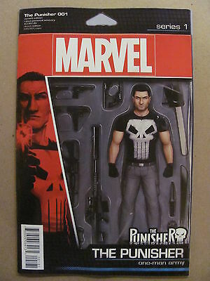 The Punisher #1 Marvel Comics 2016 Series Action Figure Variant 9.6 Near Mint+