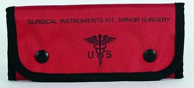 """Voodoo Tactical 15-9589016000 Empty Surgical Kit Pouches Red 7.5""""x1""""x4"""""""