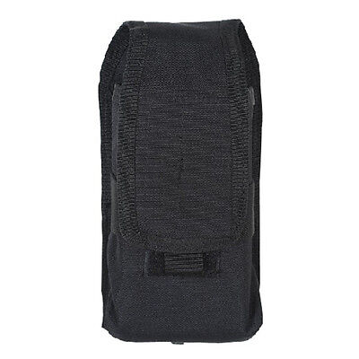 """Voodoo Tactical 20-721401000 Black 4.5""""L x 2""""W x 9""""H Cover Radio Pouch"""