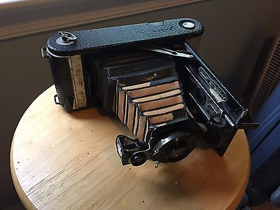 Kodak No. 1-A Kodak Jr. with Autographic Back Folding Camera