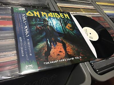 Iron Maiden The Beast Down Under Vol 2  Lp  Black Vinyl Tp