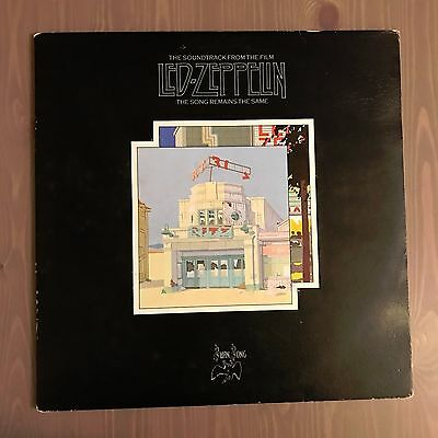 LED ZEPPELIN The Song Remains The Same 1976 UK double vinyl LP ORIGINAL