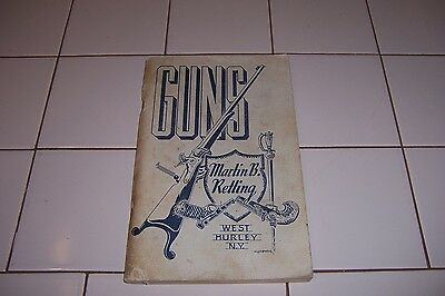 Guns (catalog) by Martin B Retting - West Hurley, N.Y.