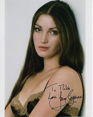 JANE SEYMOUR HAND SIGNED 8x10 PHOTO+COA      STUNNING+SEXY ACTRESS     TO MIKE