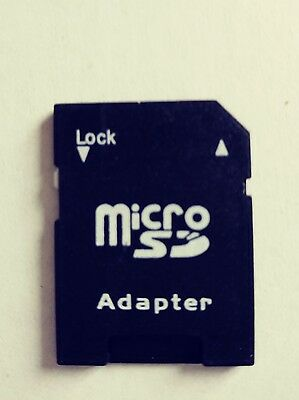 NEW MicroSD Micro SD to SD HC SDHC Memory Card Adapter Reader