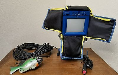 Aqua-VU Scout Underwater Video Viewing System Fish Video Camera WORKS GREAT
