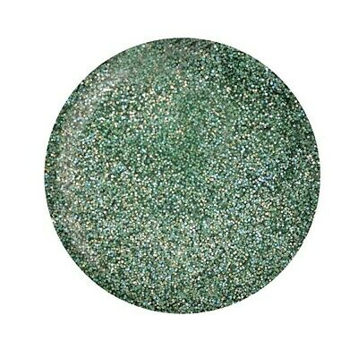 Cuccio Powder Polish Dip System Dipping Powder - Emerald Green With Rainbow Mica