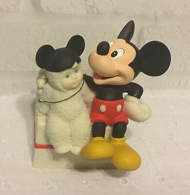 Dept 56 Snowbabies Guest Collection Disney Mickey Mouse My Pal Mickey
