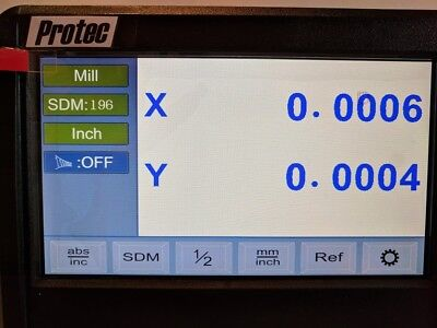 DRO Ditron Display 4-axis Update or replaces most top name brands-programmable