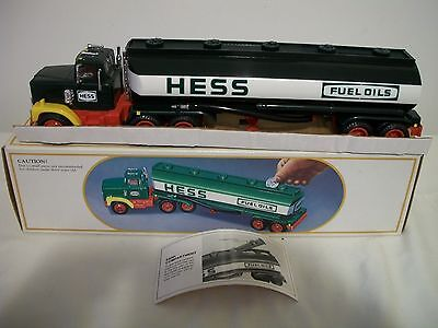 1984 Hess Toy Truck Bank Mint in Box  Very Nice
