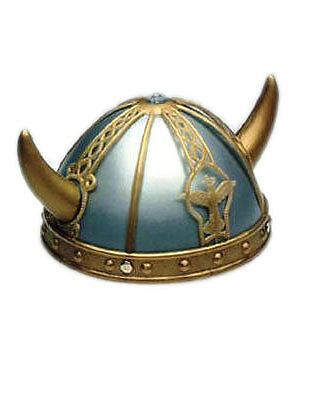 Adult/Child Costume Accessory Viking Helmet and Horns