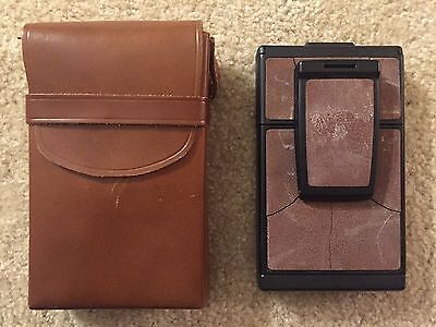 Vintage Polaroid SX-70 Instant Land Camera Model 3 with Leather Case