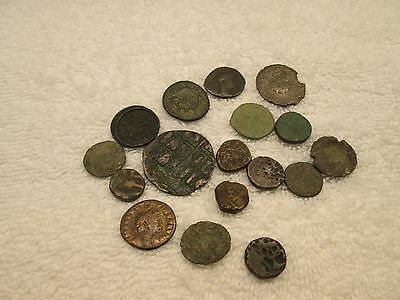 Lot Of 17 Ancient Coins