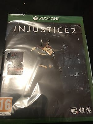 INJUSTICE 2 XBOX ONE includes DARKSEID. BRAND NEW AND SEALED.