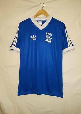Vintage Birmingham City Football Shirt 1980/82 Adidas Classic Large