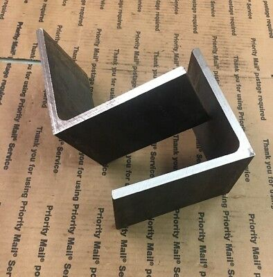 "6"" x 6"" x 4"" Long 3/8"" THICK Heavy Duty Steel Angle Bracing Brackets 2 Pieces"