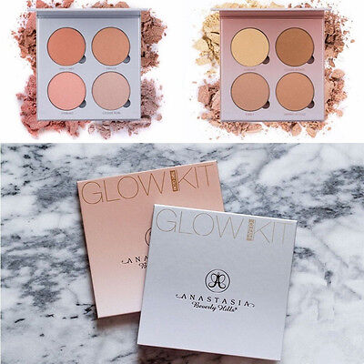 Gleam & That Glow Face Contour Makeup Cosmetic Eyeshadow Pallette Set Kit Tool