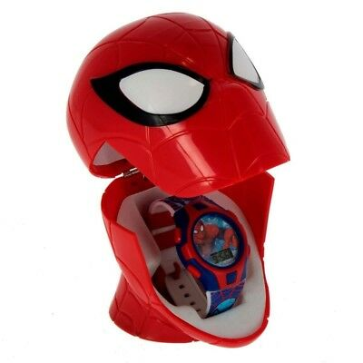 Spiderman Reloj Digital con Estuche