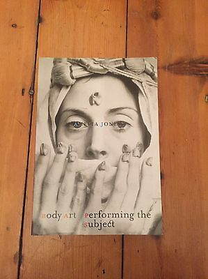 Body Art by Amelia Jones (Paperback, 1998)