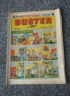 Buster and Cor Comic 17th August 1974