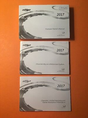 2017 Chevrolet Silverado Owners Manual [03524] 3 Book Set