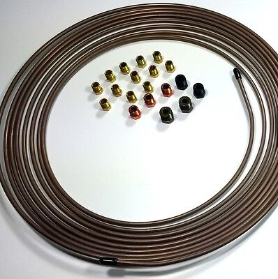 """Copper Nickel Tubing 3/16"""" 25 ft roll WITH Fitting Kit"""